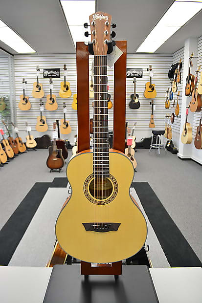 Washburn AGM5K G-Mini Acoustic Guitar - Natural