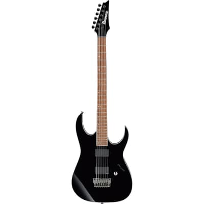 Ibanez RGIB21-BK Iron Label Baritone Black 2020