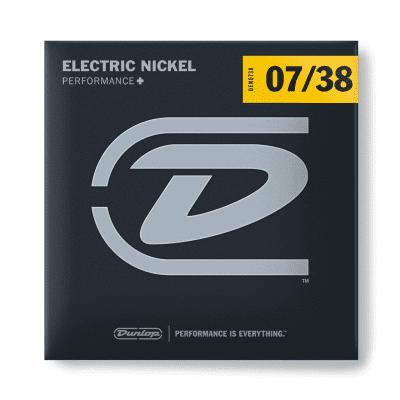 Dunlop DEN0738 Performance+ Nickel Wound Electric Guitar Strings - 7-38