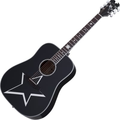 Schecter Robert Smith RS-1000 Busker Acoustic Gloss Black, 283 for sale
