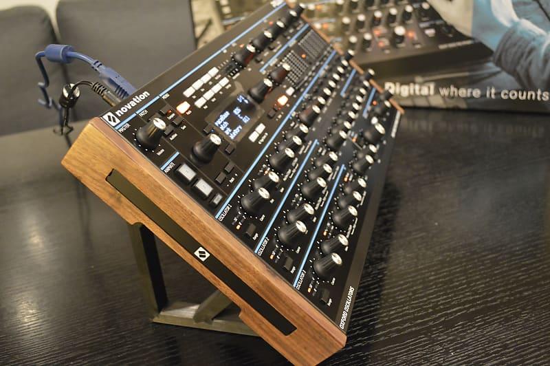 novation peak desktop polyphonic synthesizer stand reverb. Black Bedroom Furniture Sets. Home Design Ideas