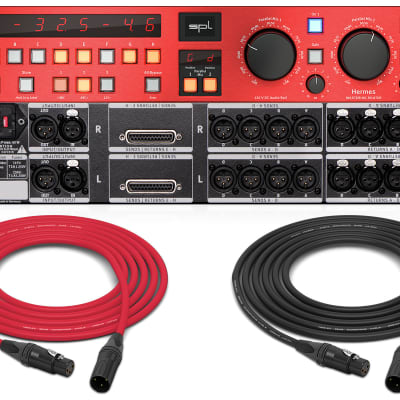 SPL Hermes | Mastering Router with dual Parallel Mix (Red) | ProAudioLA