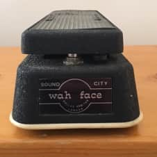 Dallas Arbiter Wah Face 1969? Black