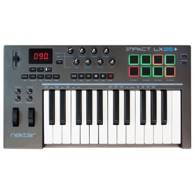 Nektar Impact LX25+ USB MIDI Keyboard Controller, 25-Key