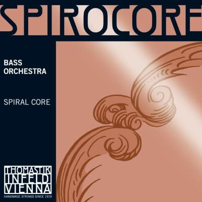Thomastik-Infeld 3886.3 Spirocore Chrome Wound Spiral Core 3/4 Double Bass Solo String - B (Medium)
