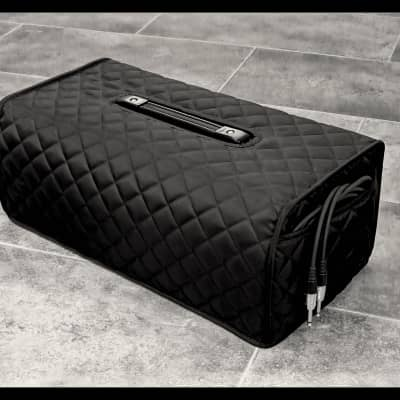 Nylon quilted Cover for Fender Dual Showman Red Knob Head amplifier .