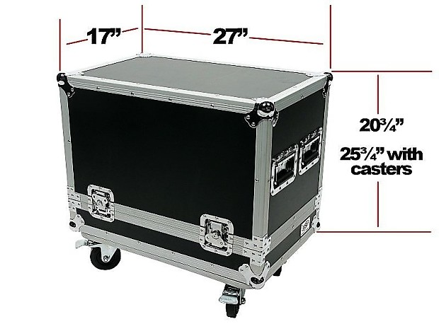 osp ata road case for fender deluxe reverb guitar amp reverb. Black Bedroom Furniture Sets. Home Design Ideas
