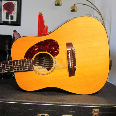Vintage 1965 Hoyer 12 String Acoustic Guitar Near Mint Vintage 12 String with Near Mint Vox Case for sale