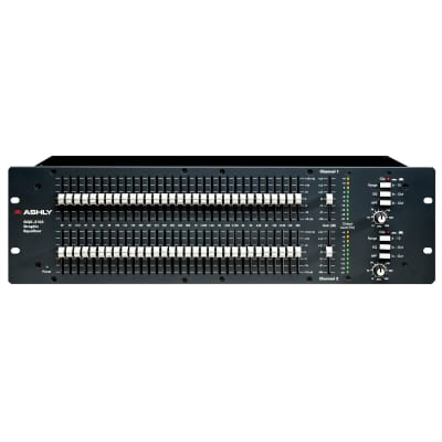 Ashly GQX-3102 Dual-Channel 31-Band Graphic Equalizer