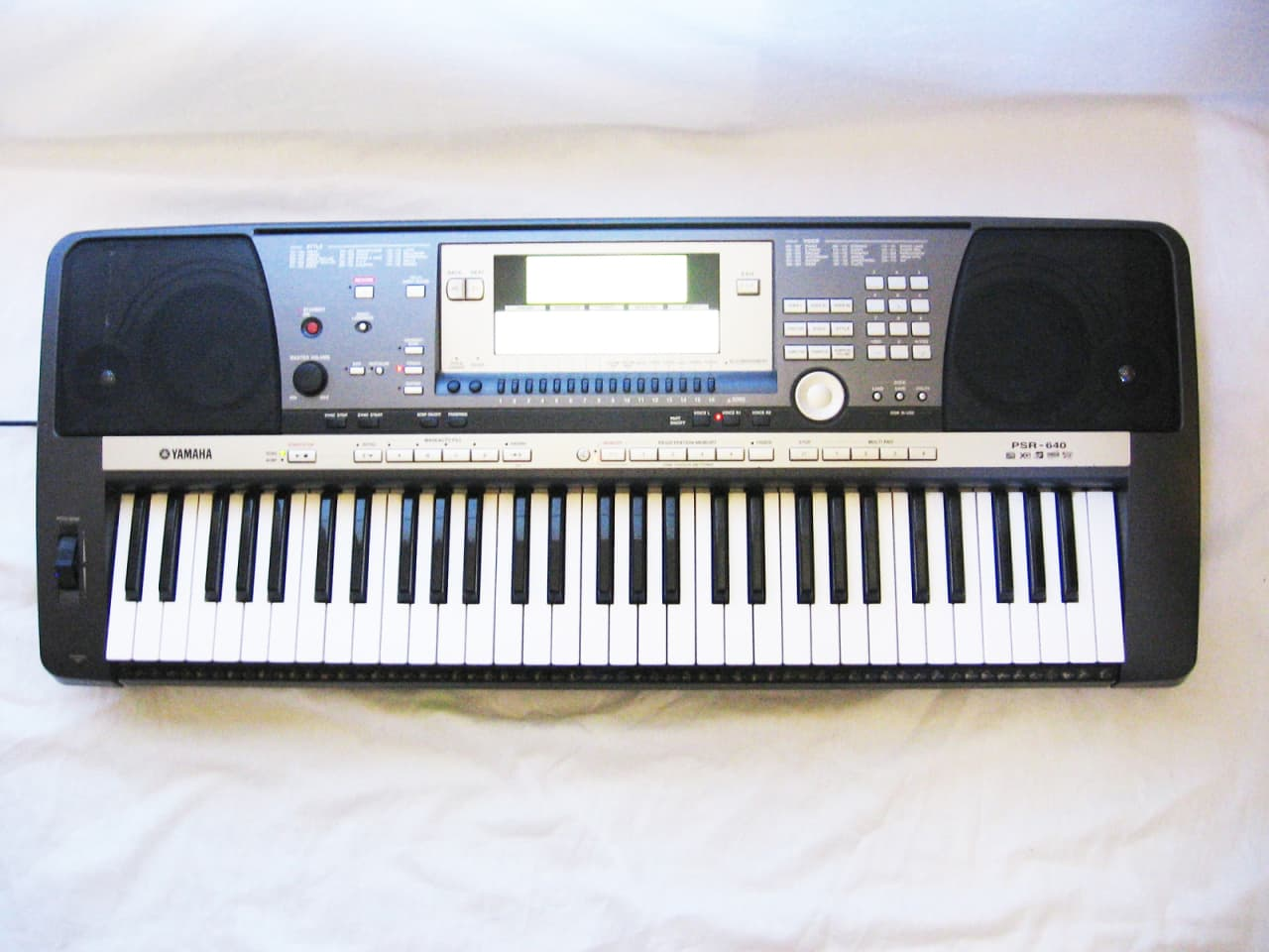 yamaha psr 640 synthesizer keyboard arranger workstation reverb. Black Bedroom Furniture Sets. Home Design Ideas