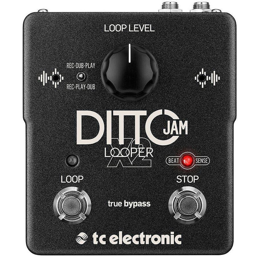 TC Electronic Ditto Jam X2 Looper  Black