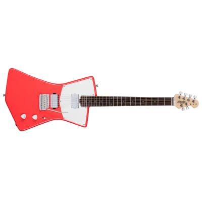 Sterling by Music Man St. Vincent STV60HH Electric Guitar, Fiesta Red