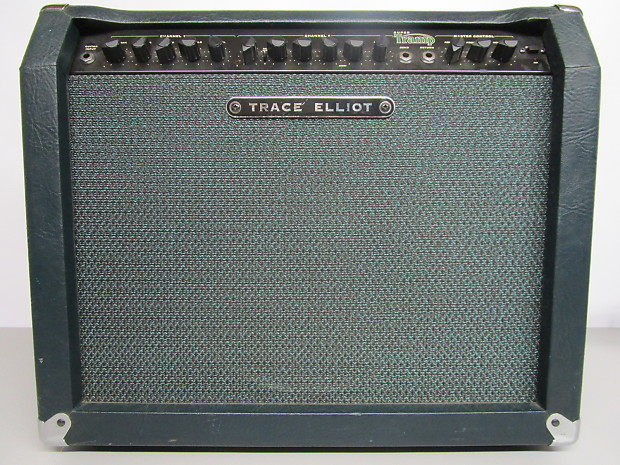 RARE Trace Elliot Super Tramp Amp, Green, 80 watts