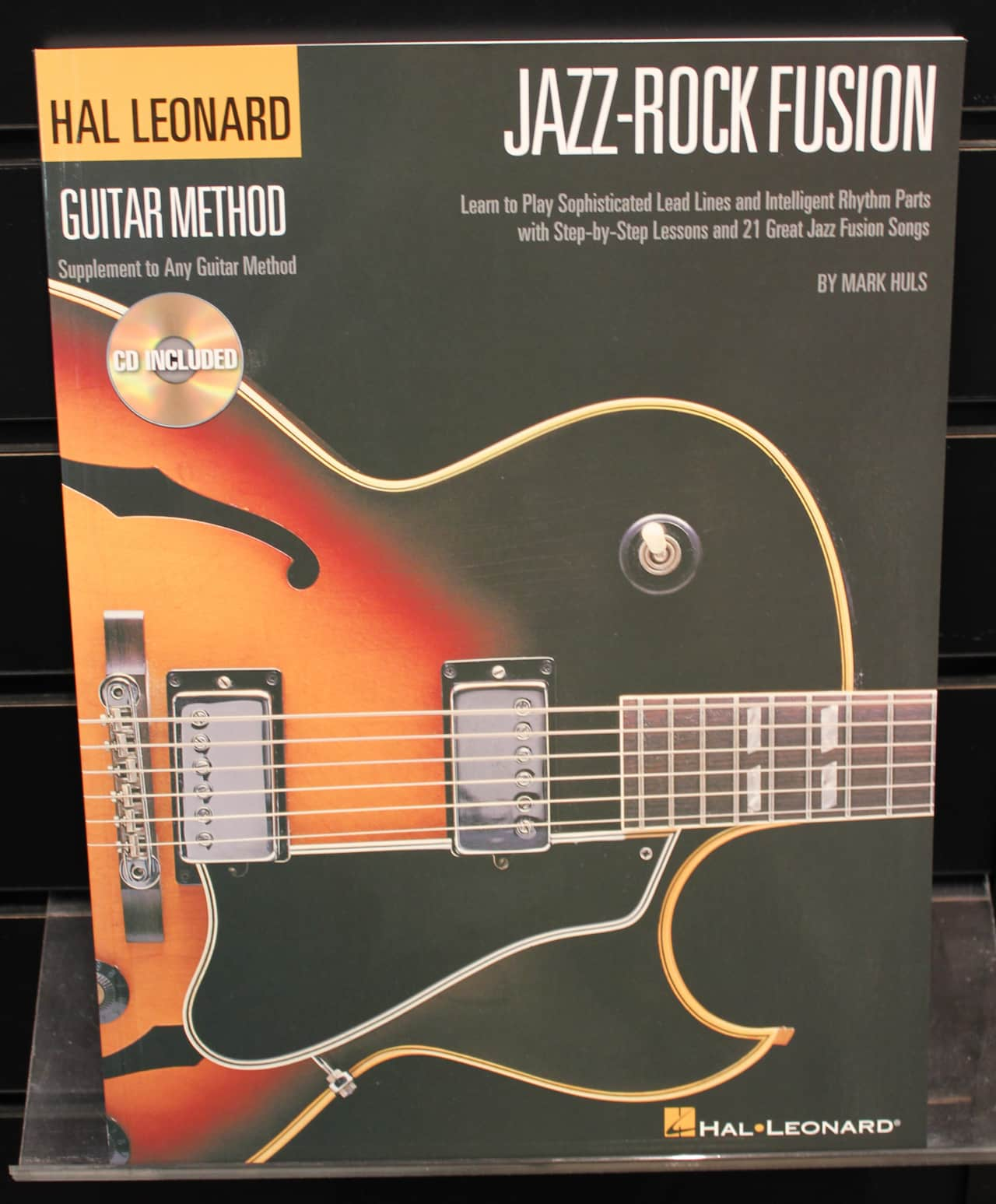 Jazz-Rock Fusion Guitar Method Softcover Book Audio Online ...