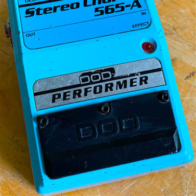 1984 DOD 565-A Performer Series Stereo Chorus Converted to 9v