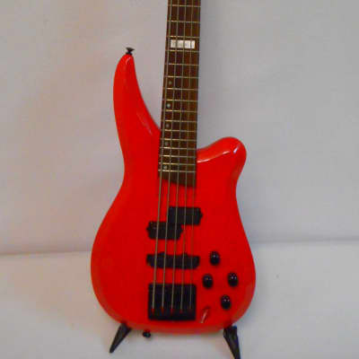 Charvel Fusion V 5 string bass Red for sale