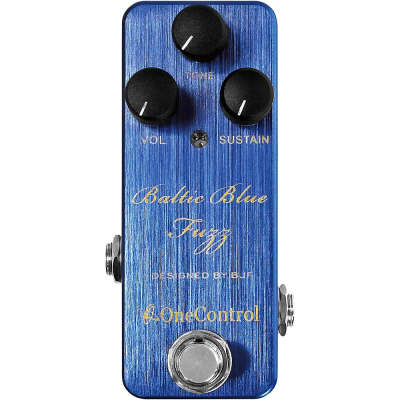 One Control Baltic Blue Fuzz Effects Pedal Regular for sale