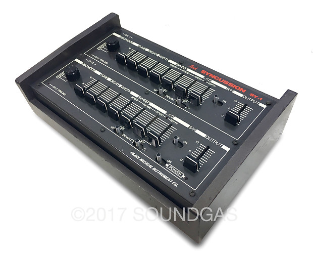 pearl syncussion sy 1 trigger drums reverb. Black Bedroom Furniture Sets. Home Design Ideas