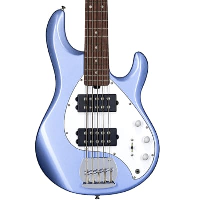 Sterling by Ernie Ball Ray5HH Bass Guitar in Lake Blue Metallic for sale