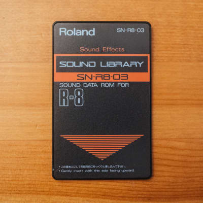 Roland SN-R8-03 Sound Effects ROM Sound Expansion Card