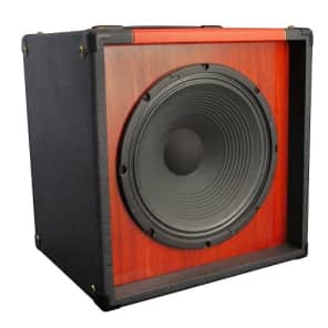 Panama Tonewood 1x12 cab  Graphite/Scarlet w/ built-in Attenuator & Dirty D30 Drivers for sale