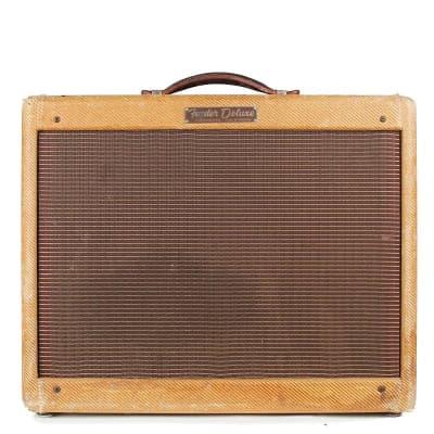 """Fender Deluxe 5E3 Narrow Panel 15-Watt 1x12"""" Guitar Combo 1955 - 1960"""