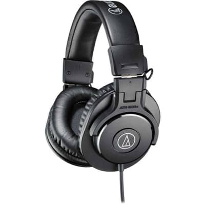 Audio-Technica ATH-M30x Closed-Back Professional Studio Monitor Headphones