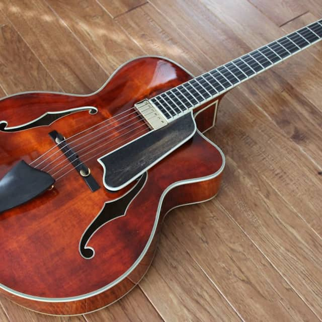 Eastman AR805CE 2012 Classic Archtop Guitar image