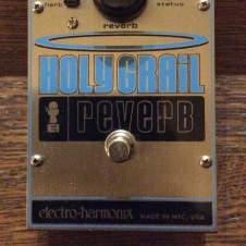 Electro-Harmonix Holy Grail original wooden box nyc version 2000,s