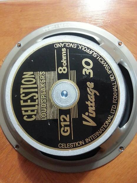 celestion vintage 30 v30 speaker england uk reverb. Black Bedroom Furniture Sets. Home Design Ideas