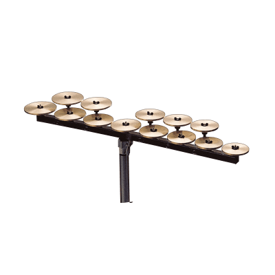 Zildjian P0637 High Octave Deluxe Crotale Bar