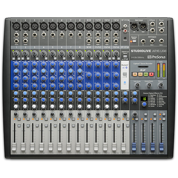 PreSonus StudioLive AR16 USB 18-Channel Mixer with USB | Reverb