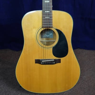 Conn Acoustic Guitar 1971 Natural for sale