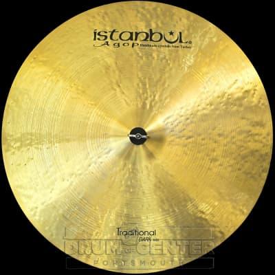 "Istanbul Agop Traditional Dark Ride Cymbal 26"""