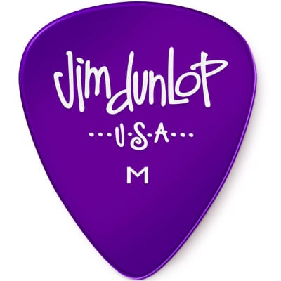 Dunlop 486RMD Gels Medium Guitar Picks (72-Pack)