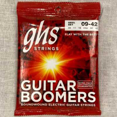 GHS GBXL Guitar Boomers Electric Guitar Strings 9-42