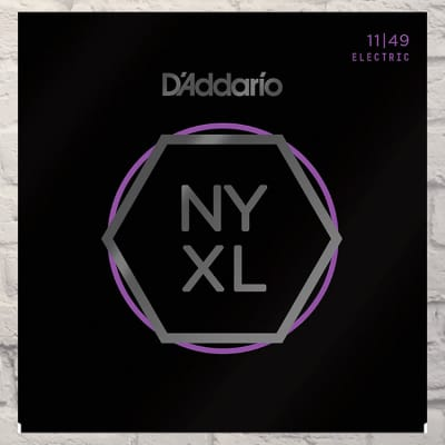 D'Addario NYXL1149 Medium Nickel Wound Electric Guitar Strings 11-49