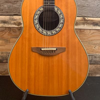 Ovation Balladeer 1612 with Factory Pickup 1982 for sale