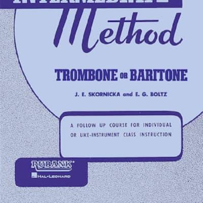 Rubank Publications Intermediate Trombone or Baritone Method Book