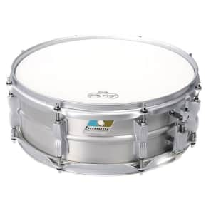 """Ludwig LM404LTD Limited Edition Acrolite 5x14"""" Snare Reissue with Matte Silver Hardware"""