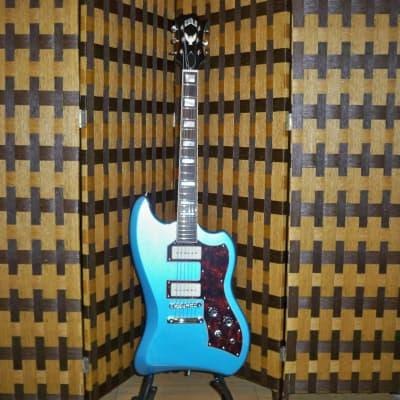 Guild Guild ST T-Bird P90 Electric Guitar 2019 Pelham Blue for sale