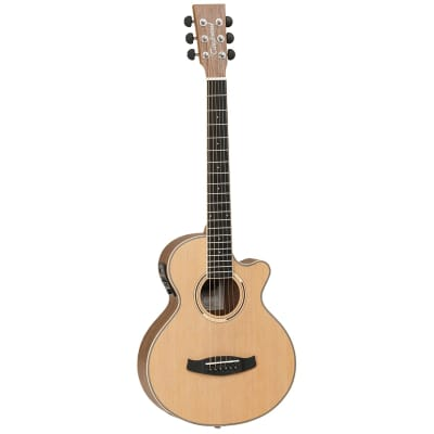 Tanglewood TDBTTCEBW Discovery Exotic Traveller C/E - Black Walnut for sale