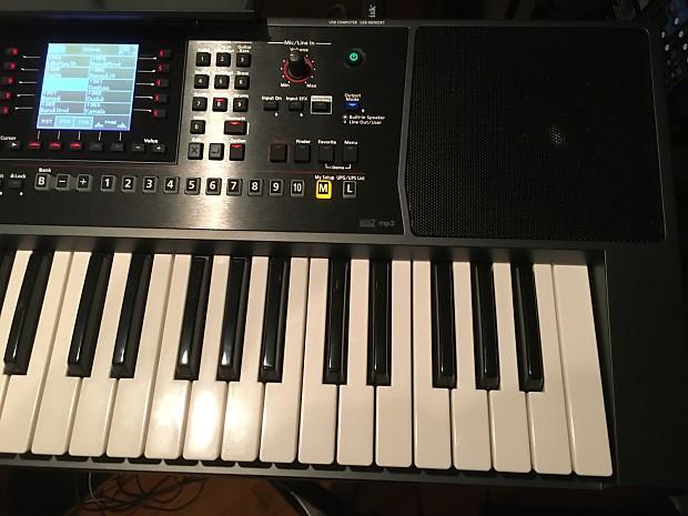 Roland E-A7 Expandable Arranger Keyboard Sampler 2016 Black