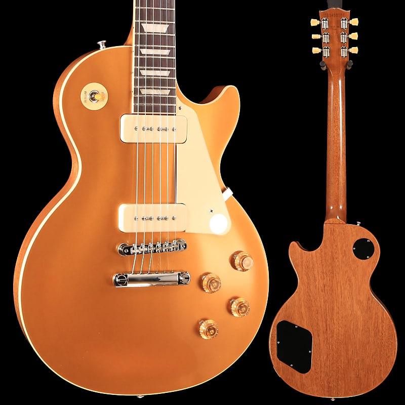 Best Reverb Pedal 2020 Gibson LPS5P900GTNH1 Les Paul Standard '50s P90 2020 Gold | Reverb