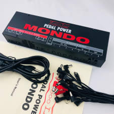 Voodoo Lab Mondo Power Supply w/ 18 Cables, Power Cord, and Manual