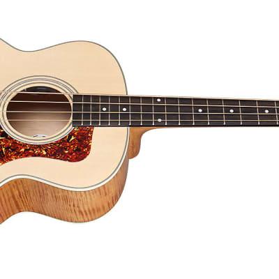 Guild Jumbo Junior Electric Bass Guitar SP/FM ABD *New (QS-415) for sale