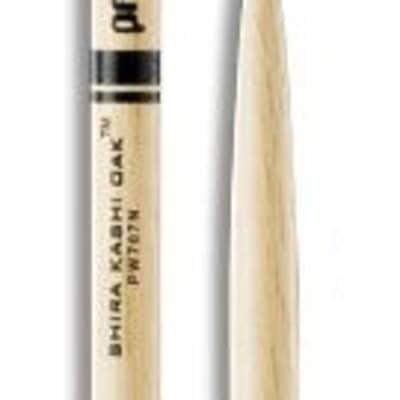 Promark PW707N 707 oak Nylon Tip Oak Drumsticks