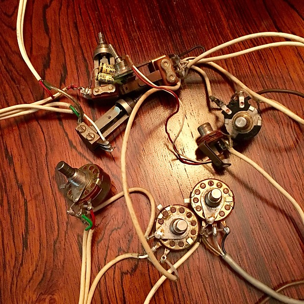 Charming Wiring Wizard Tiny Fender S1 Switch Wiring Diagram Clean Dragonfire Pickups Wiring Diagram Wiring Diagram For Les Paul Guitar Old Electric Guitar Jack Wiring BrightSearch Bbb Gretsch Wiring Harness 1968 Orginal Vintage Rally Chet Atkins | Reverb