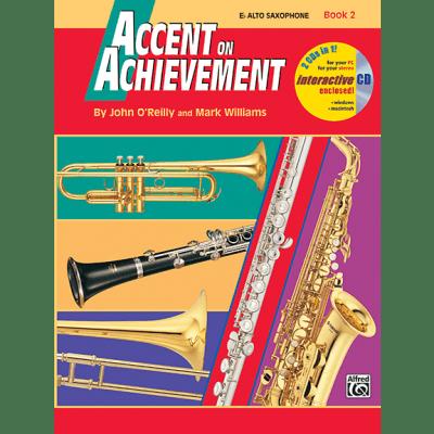 Accent on Achievement Book 2 - Alto Sax <18261> Alfred Music