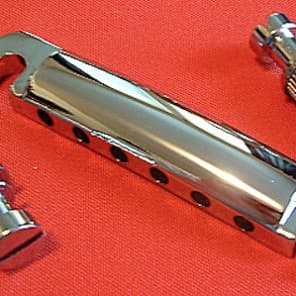 Guitar Parts STOP BAR Tailpiece Stopbar - CHROME